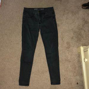 Stretchy jeans (jeggings) (short)
